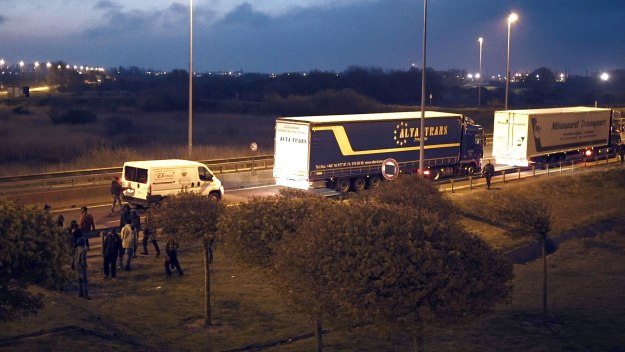 Breaking into Britain: The Lorry Jumpers