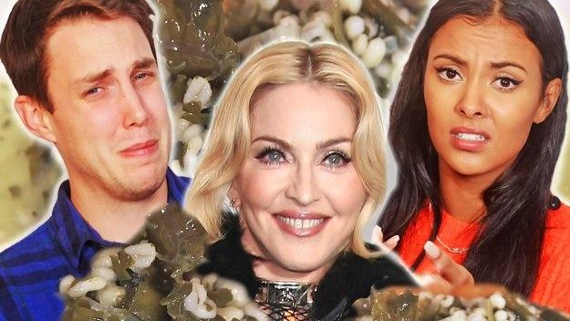 Madonna's Macrobiotic Munchies Diet