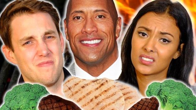 The Rock's Herculean Protein Plan Diet