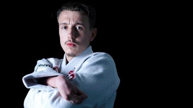 Jiu Jitsu Wrestler