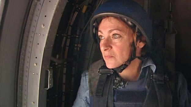 Deborah Davies in Iraq