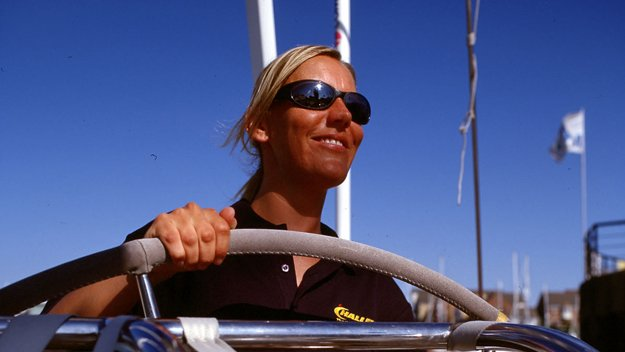 Ferry Stewardess to Yachtswoman