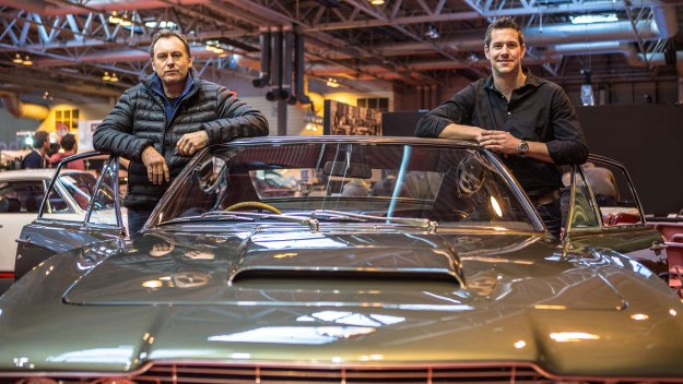 Car fanatic Philip Glenister and internationally renowned car designer Ant Anstead are on a mission - to scour the barns and lock ups of Britain for wrecked treasures to bring to life
