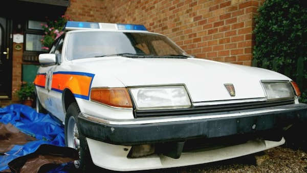 Rover SD1 Police Car