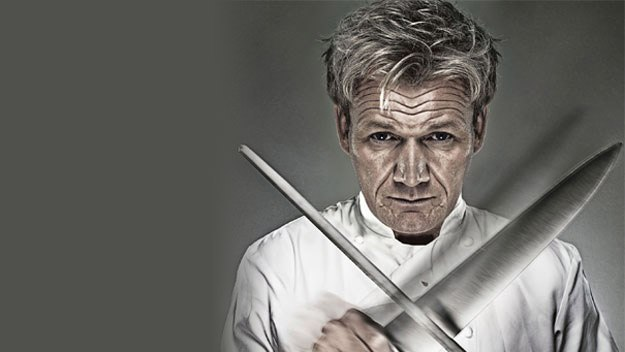 Too many cooks spoil the broth - and Britain's busiest celebrity chef wants to put a stop to all that. In this series, Gordon Ramsay teaches the nation how to cook a new three-course meal each week.