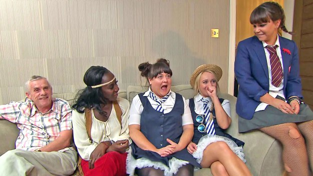 Hollyoaks Does Come Dine With Me All 4
