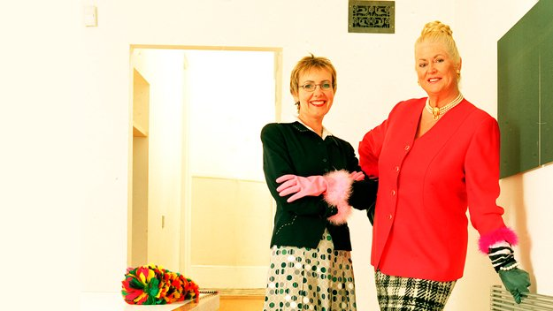 Kim Woodburn and Aggie MacKenzie boldly go where no mop has gone before. Their mission? To help the UK's most domestically challenged households clean up their acts. The gloves are on.