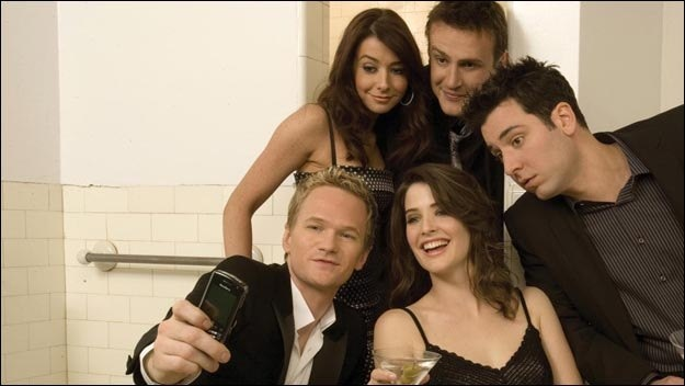The How I Met Your Mother actors in the sceond series