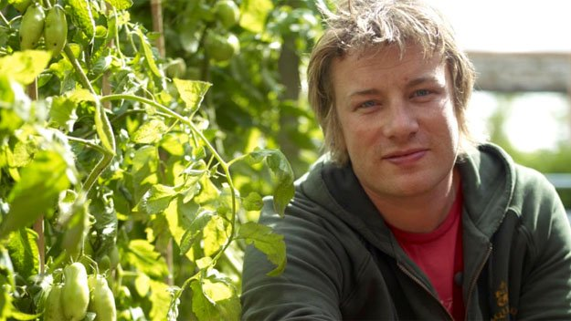 The chef goes back to his roots, literally. From his Essex kitchen and garden, Jamie Oliver shows how easy it is to grow fantastic fruit and veg, and turn them into simple, delicious food.