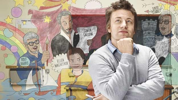 Jamie Oliver brings together some of Britain's most inspirational individuals to see if they can persuade 20 young people to give education a second chance