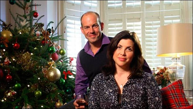 Kirstie Allsopp and Phil Spencer's guide to the ultimate festive celebrations. Phil investigates the best toys, gizmos and gadgets, and Kirstie shares the best bespoke gifts, decorations and food.