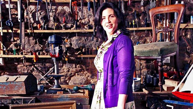 Kirstie Allsopp is on a mission to transform properties, including her own, to make the ultimate 'homemade' homes