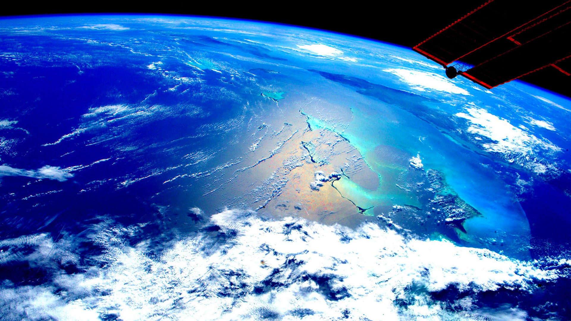 Man Made Planet Earth From Space All 4