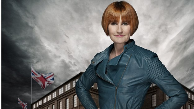 Mary Portas wants to energise the UK clothing industry by starting her own production line to manufacture a staple in any woman's wardrobe - 100% British knickers