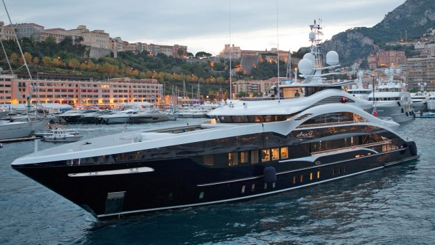 Million Pound Mega Yachts
