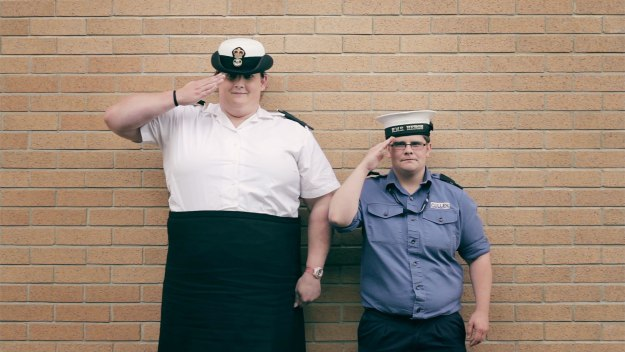 Trans and in the Navy