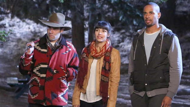 New Girl: Schmidt, Cece and Coach