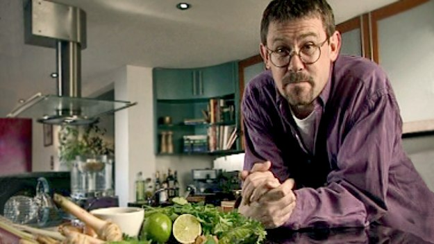 Nigel Slater creates recipes for people with busy lives who still want to eat well. He believes it's possible to make a tasty meal just as quickly as fast food.