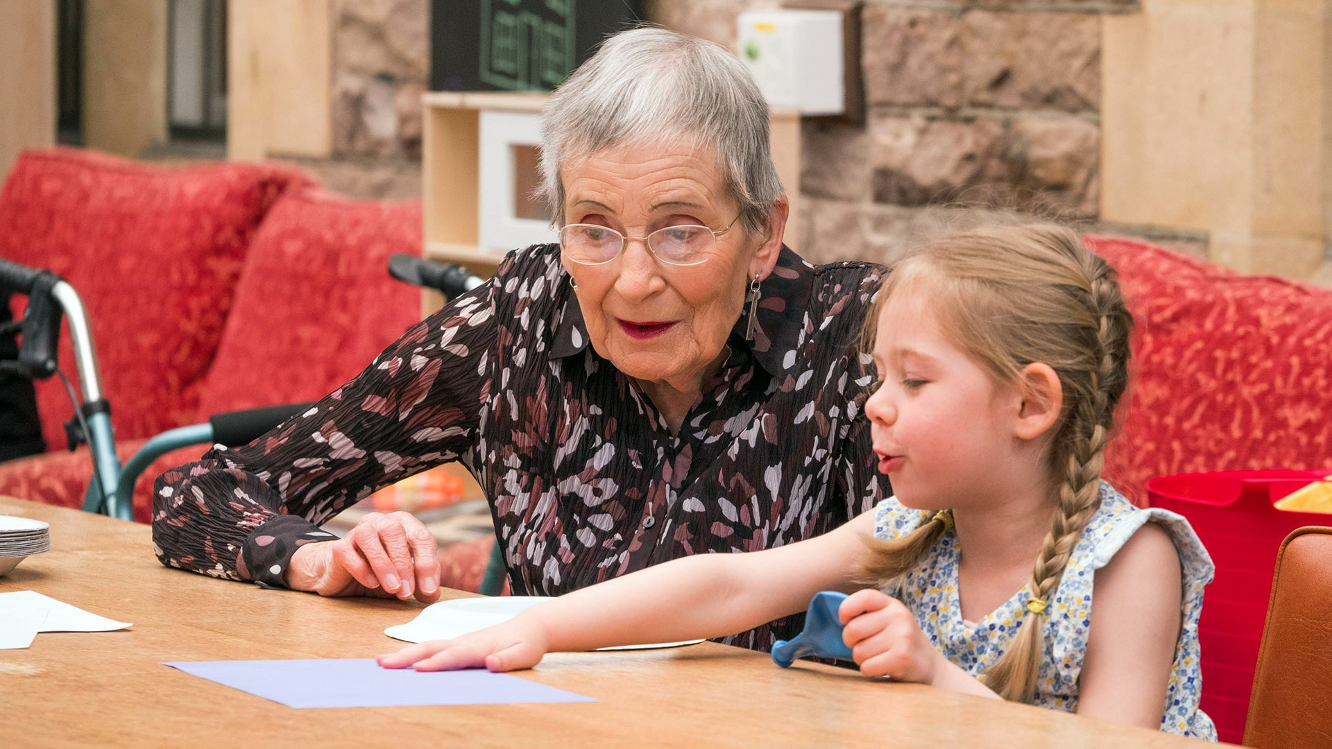 Old People's Home for 4 Year Olds review – a moving and uplifting experiment