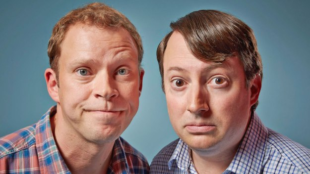 Award-winning sitcom. David Mitchell and Robert Webb play two dysfunctional flatmates who reveal all their inner thoughts - whether dark, stupid or embarrassing. Or, occasionally, all three...