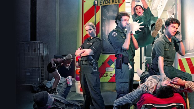 A team of world-weary paramedics are forced to confront the dregs of society - not to mention their own inadequacies - in this comedy drama