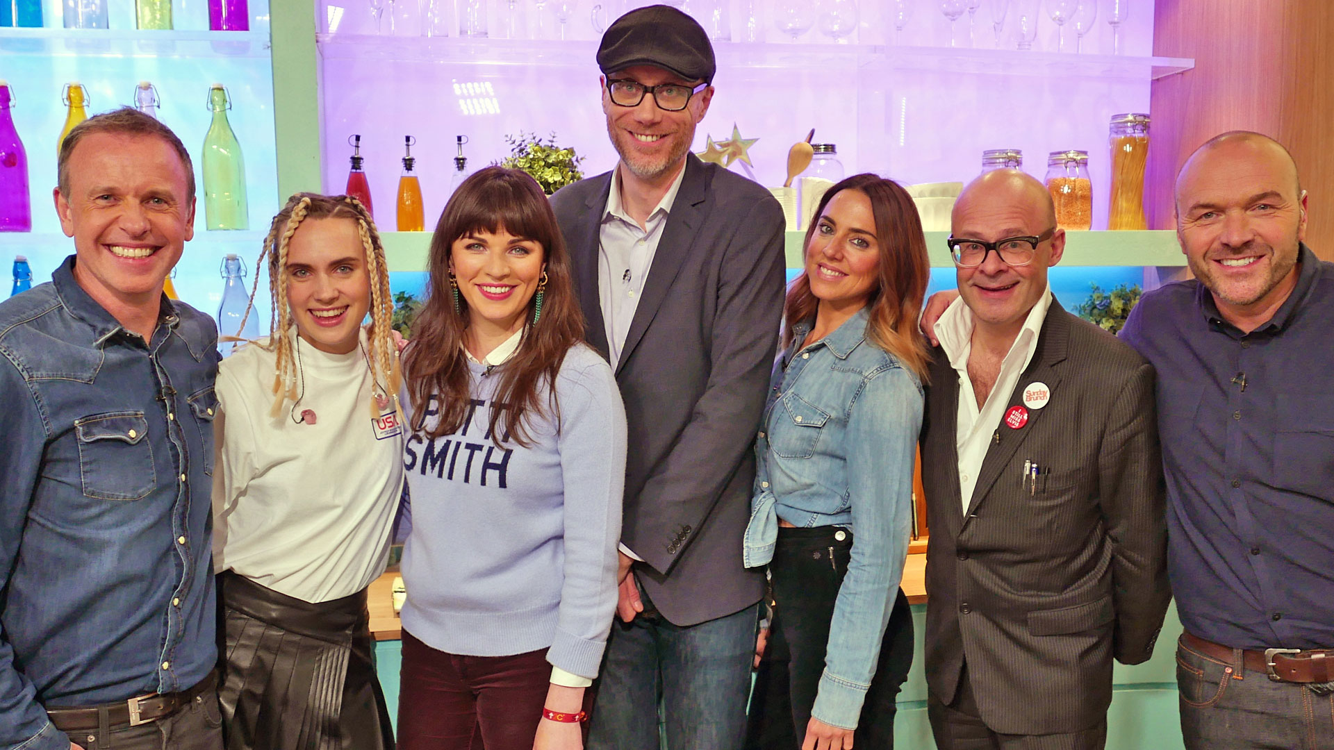 Stephen Merchant, Melanie C, Harry Hill, Aisling Bea, MØ