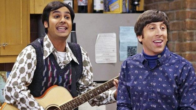 The Big Bang Theory: Raj and Howard