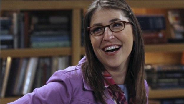 Sheldon's girlfriend in The Big Bang Theory