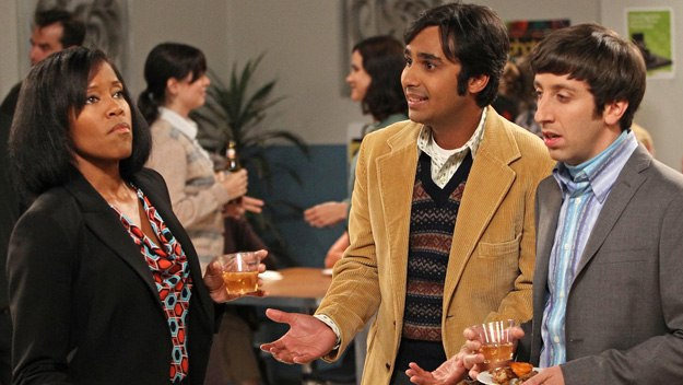 The Big Bang Theory: Janine, Raj and Howard