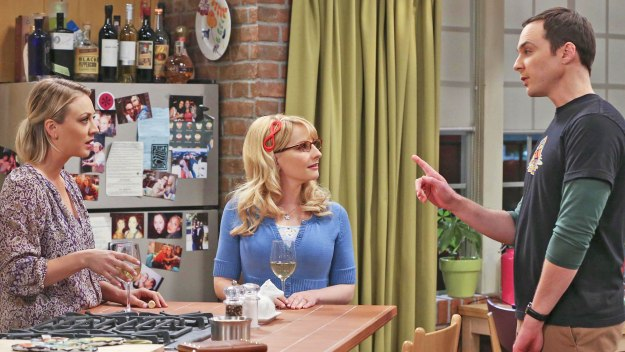 The Big Bang Theory: Penny, Bernadette and Sheldon