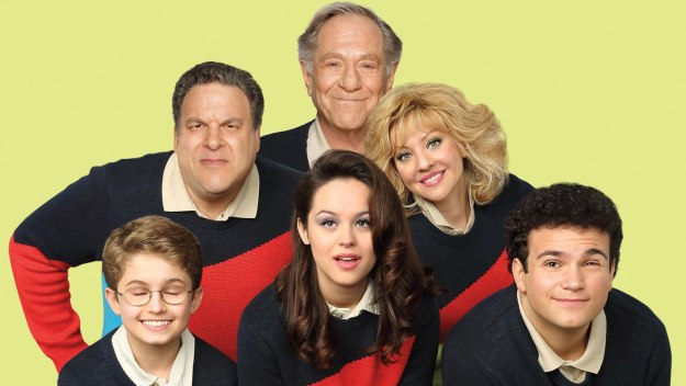 The Goldbergs: Adam, Murray, Erica, Pops, Beverly and Barry