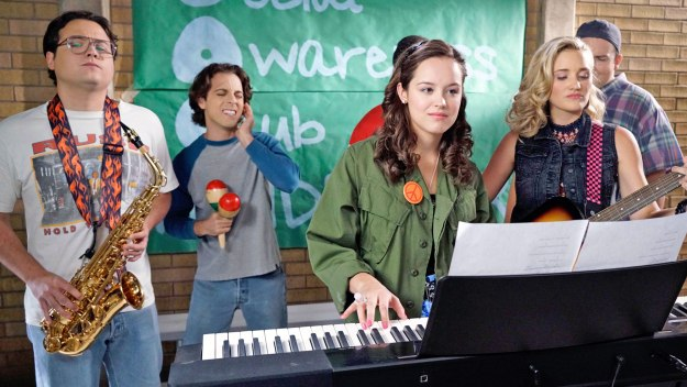 The Goldbergs: Johnny, Andy, Erica and Lainey
