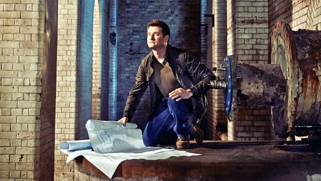 George Clarke helps rescue neglected architectural treasures across Britain