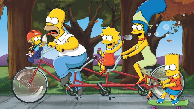 Homer. Marge. Bart. Lisa. Maggie. They're unique, they're extraordinary, and they're yellow. Say hello to the Simpsons.