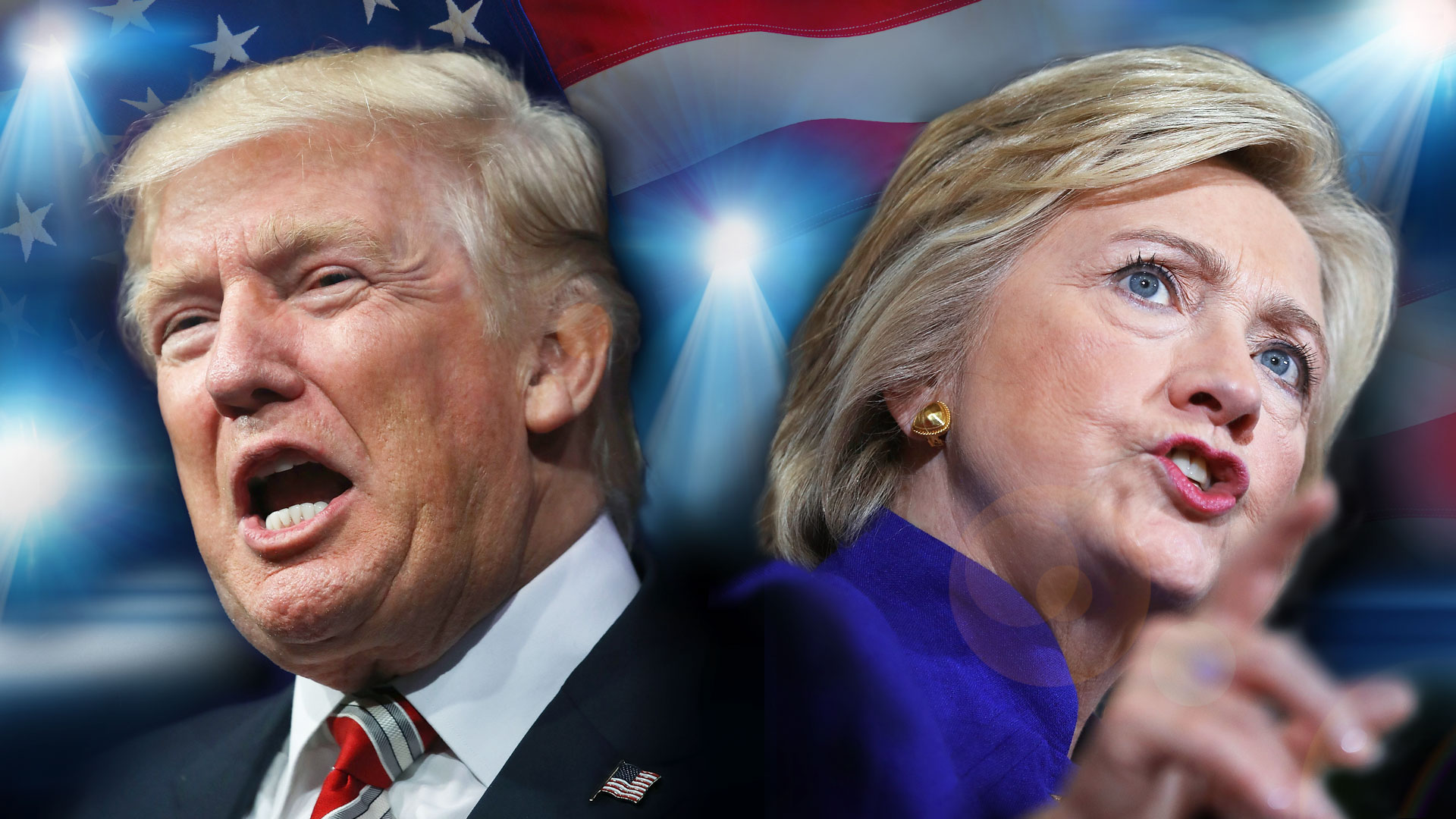 Trump vs Clinton Live: US Presidential Debate