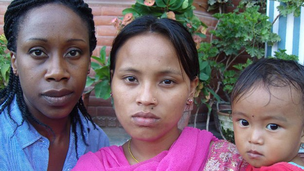 Yemi Ipaye meets a Nepalese widow and her child