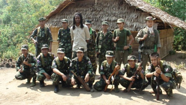 Unreported World, Inside Burma's Secret State, Seyi Rhodes with Burmese Karen soldiers