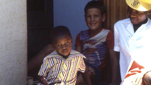 White Boy, Black Nanny
