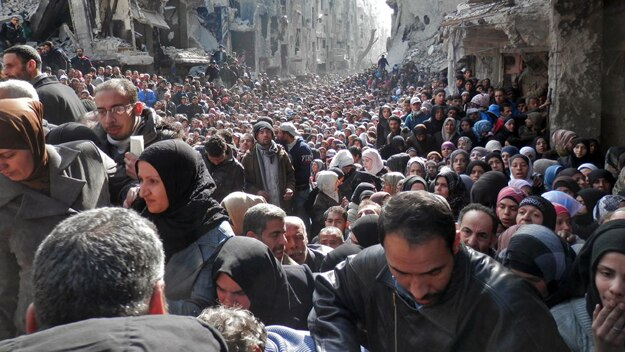 Yarmouk: inside the Syrian refugee camp under siege by Isis