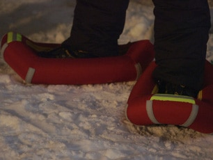 Small Foot Inflatable Snow Shoes