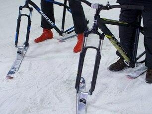 Alpine Ski Bike Conversion Kit