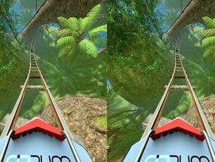 Fibrum Roller Coaster VR App
