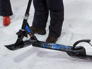 Snow Glyder Ski Scooter Conversion Kit