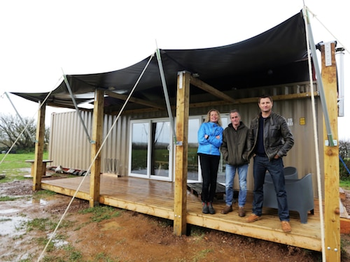 Tin Tent on George Clarke's Amazing Spaces Channel 4