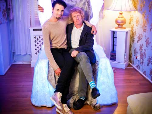 Grayson Perry with Rylan