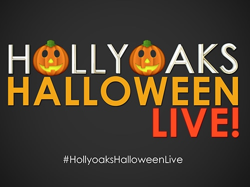 Watch #HollyoaksHalloweenLive!
