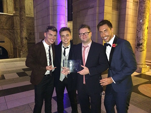 Hollyoaks wins Stonewall Award for 'Broadcast of the Decade'