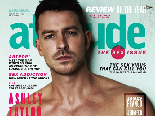 ATD Gets Shirtless for Attitude Mag