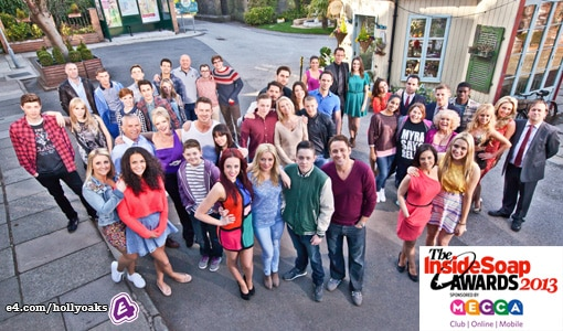 Hollyoaks Shortlisted for Inside Soap Awards