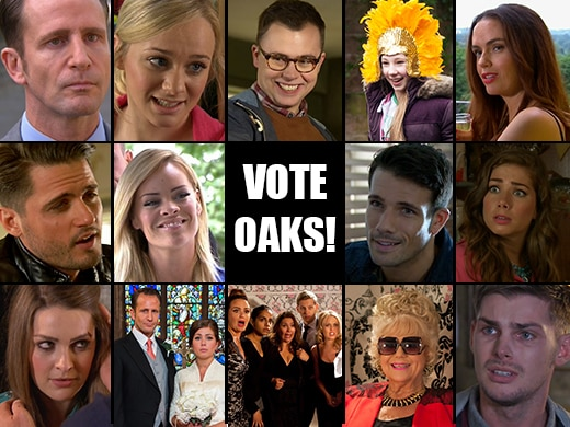 Shortlist Announced for Inside Soap Awards 2014!
